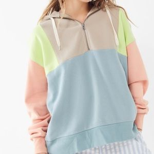 Urban outfitters colorblocked hoodie!
